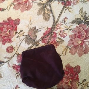 Urban Outfitters Suede Clutch